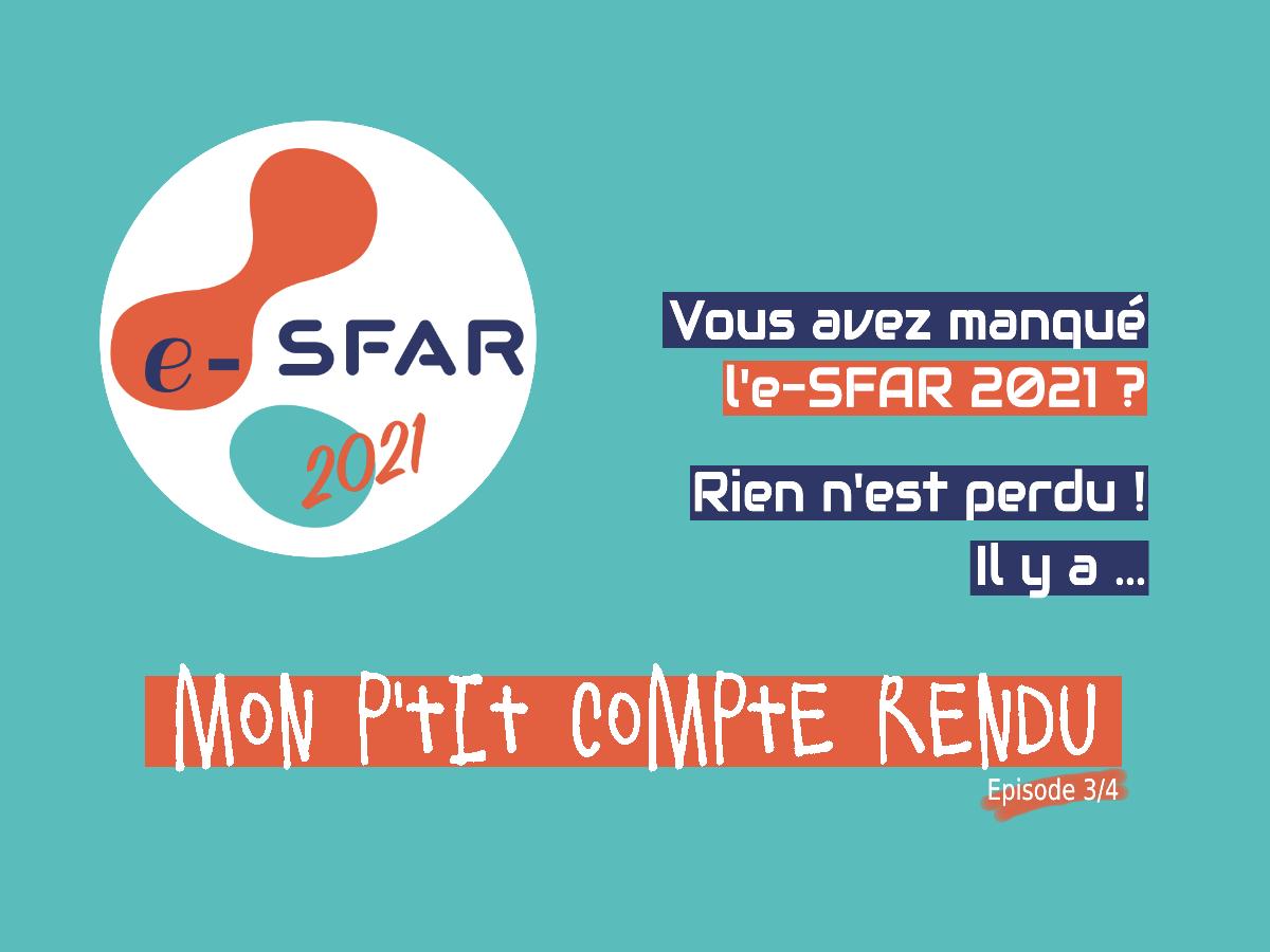 RARRE Mon P'tit Compte Rendu e-SFar 3/4